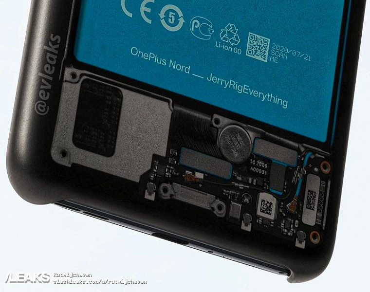 The first inside images OnePlus Nord showing rare camera internal