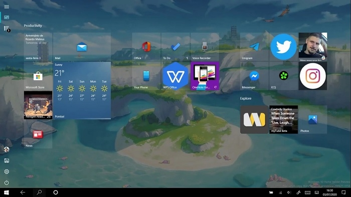 Microsoft rolling out new version of Windows 10 start menu