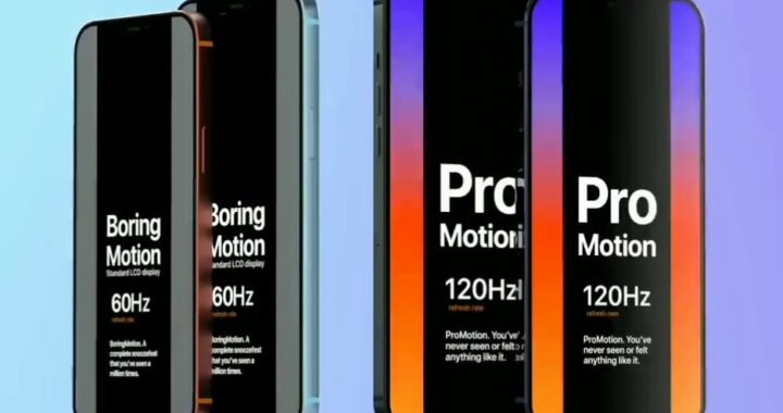 iPhone 12 Pro: But still chances for 120Hz ProMotion display in the next Apple flagship?