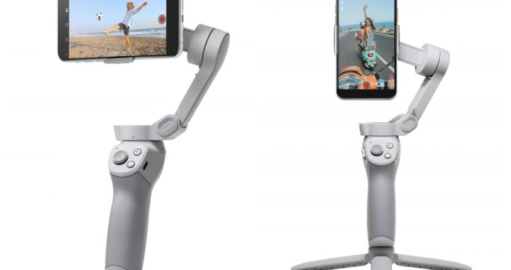 DJI Osmo Mobile 4: smartphone gimbal becomes more flexible - all information in advance