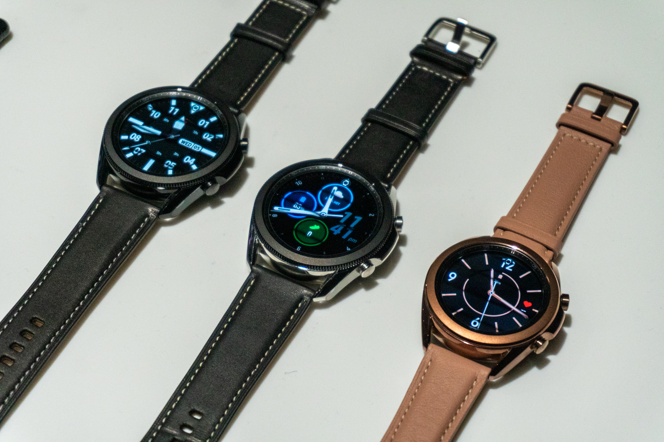 Samsung Galaxy watch 3 presented