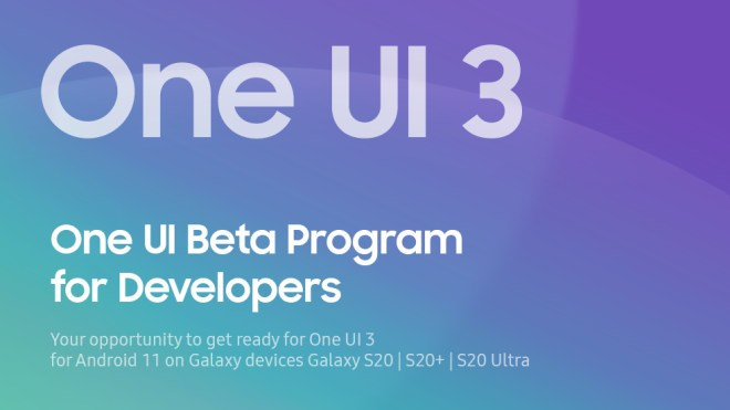 Galaxy S20 receive first beta for Android 11 & One UI 3.0