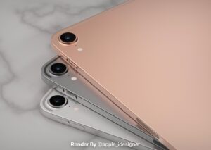 iPad Air 4 renders Leaked with Full-screen design uses USB-C interface