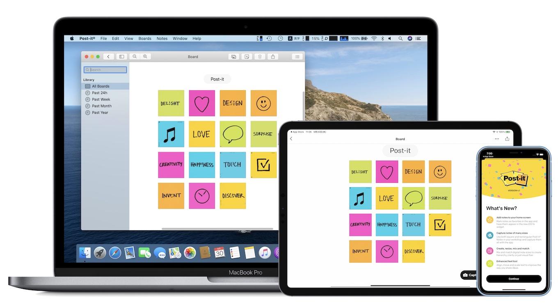 3M-Post-it-Mac-iPad-iPhone