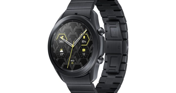 Samsung Galaxy Fit 2 and Watch 3 Titan presented