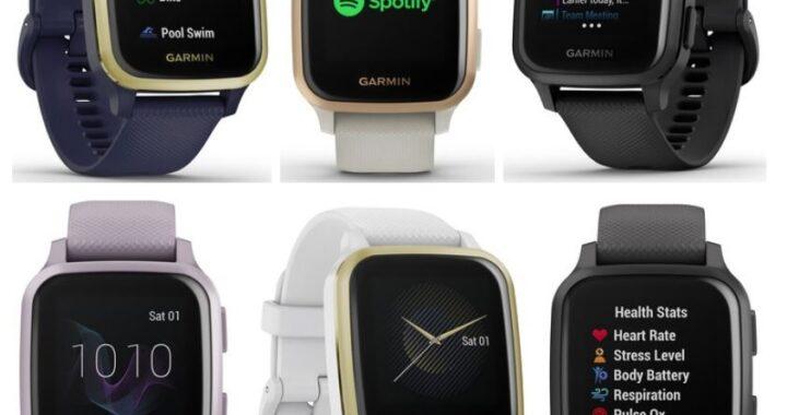 Garmin Venu Sq and Venu Sq Music: Smartwatches from 200 euros presented