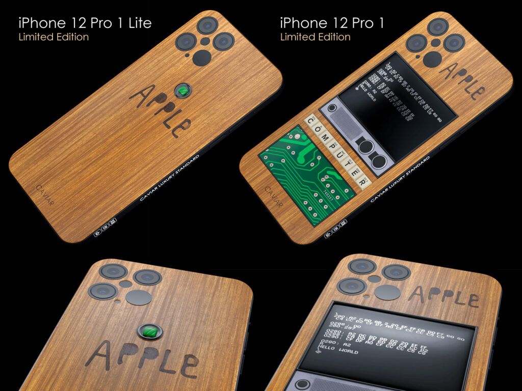 "iPhone 12 Pro ""OnlyforFans"": Caviar produces extremely limited Apple 1 Collectors Editions"