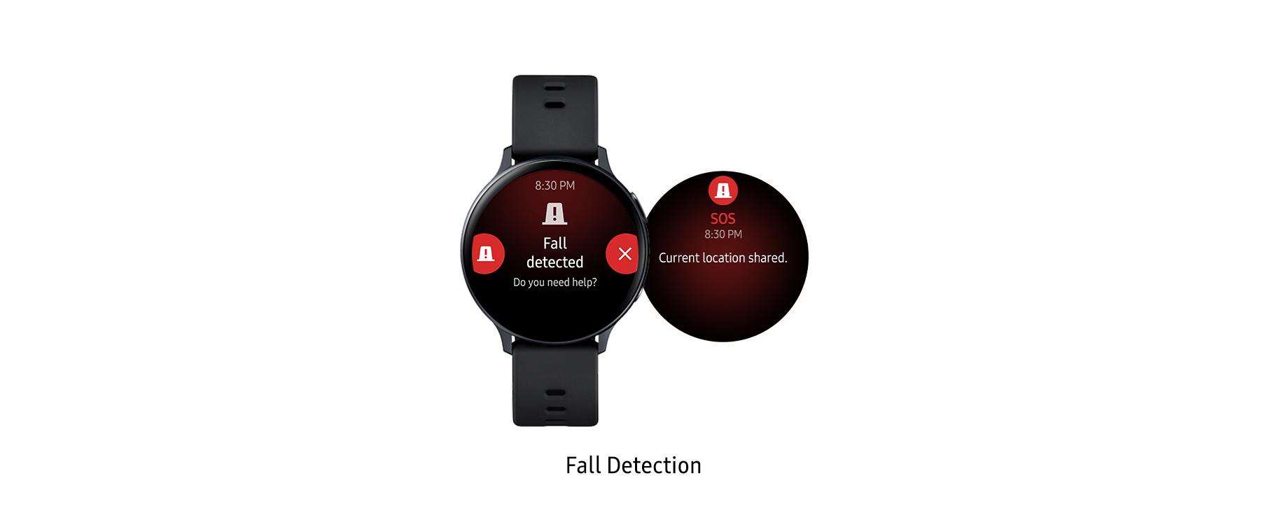 fall detected