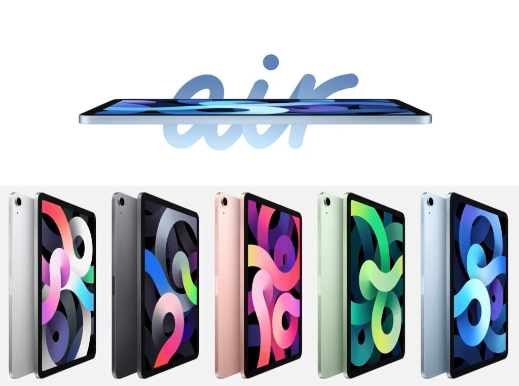 Apple presents iPad Air 4 with the faster Apple A14 Bionic chip