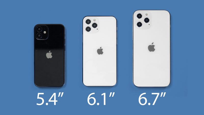 Source: The 5.4-inch iPhone 12 is the thickest, the bangs are reduced, the A14 releases performance, and the iPhone 12 Pro Max has the most powerful camera