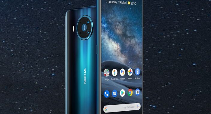 Nokia 8.3 5G new clear cases and flip covers available