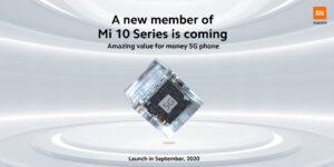 New model Xiaomi Mi 10 cheaper than 300 euros is coming