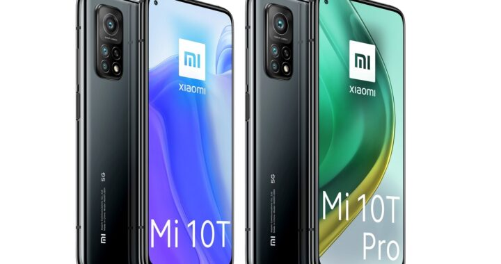 Xiaomi Mi 10T series: data sheets and official pictures leaked