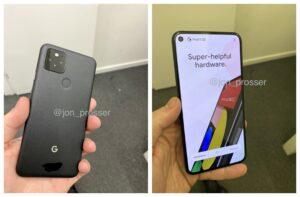 Google Pixel 5 vs Pixel 4a 5G: High-resolution hands-on images show subtle differences,